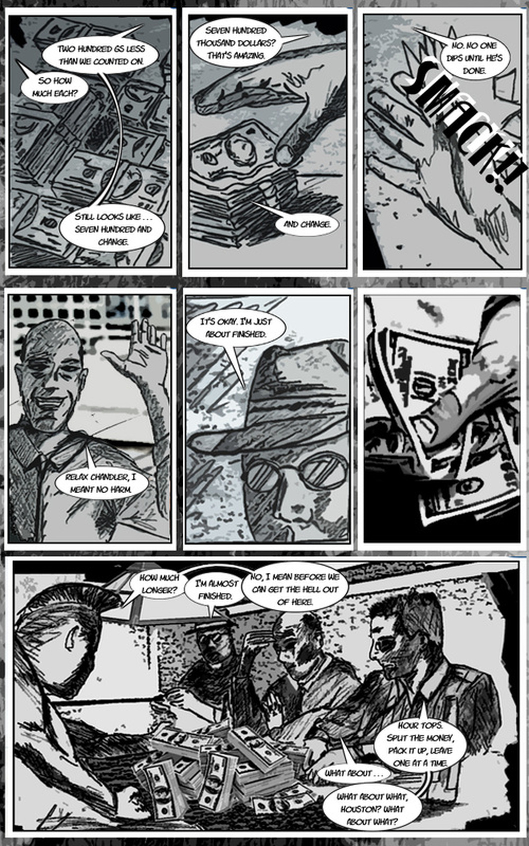 TDC Streetlight Stories: Stolen Loneliness Page 1