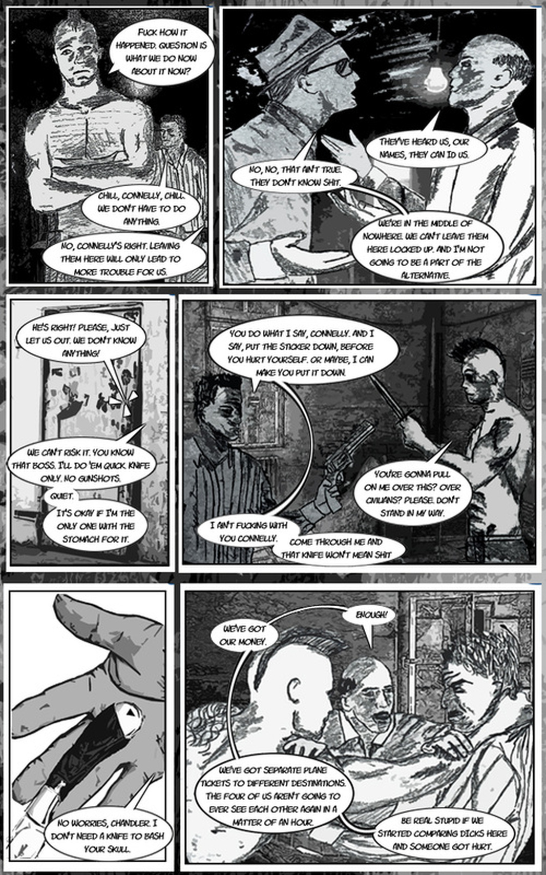 TDC Streetlight Stories: Stolen Loneliness Page 4